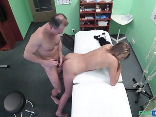 Hidden camera elbow the doctors date records him fucking a patient