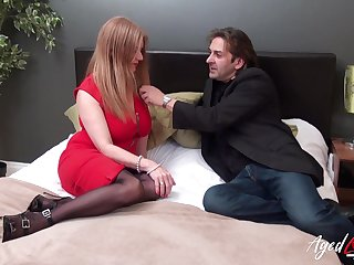 Killing hot busty granny Lily May has an affair alongside younger man