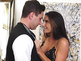 Passionate stepmom Silvia Saige is craving for hard and big penis