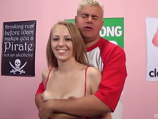 Jenna Marie loves getting spanked by way of hardcore shagging from sneakily